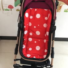 Dot Design Baby Stroller Cushion Mat Cotton Diaper Pad Seat For Carriages Pushchair Pram Car Mattress Dropshipping