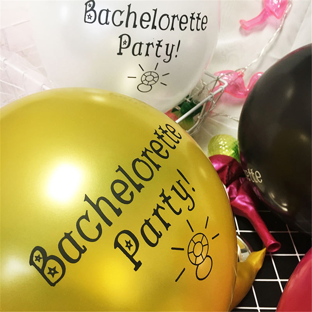 1pc Bachelorette Party Balloon Party Decorations Offensive Abusive Prank Collection Hot Sale