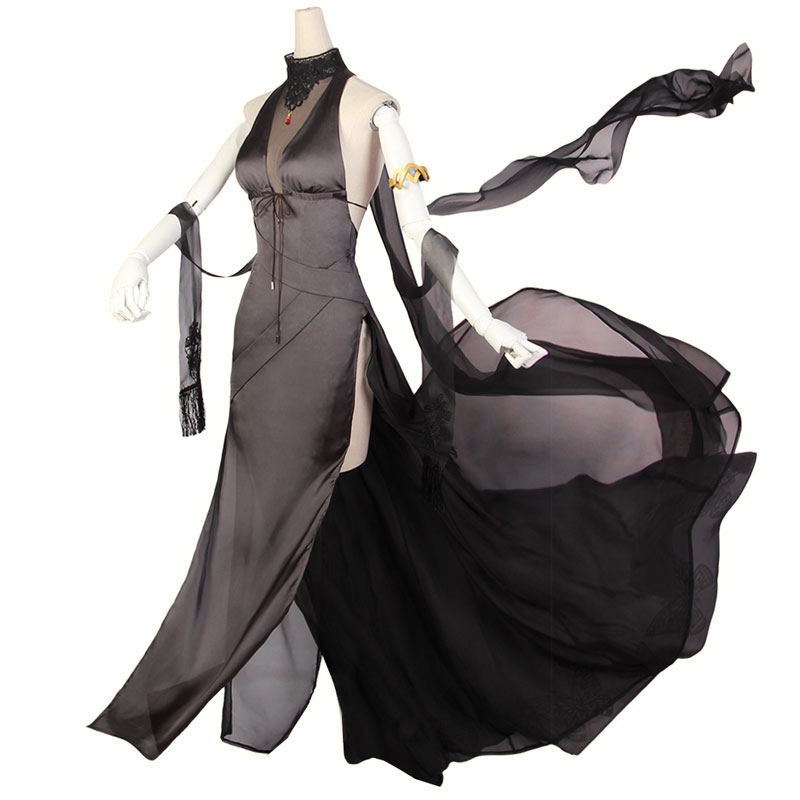 Cos Girls Frontline Cosplay Costume Game Cosplay DSR50 2nd Anniversary Dress Morning coat