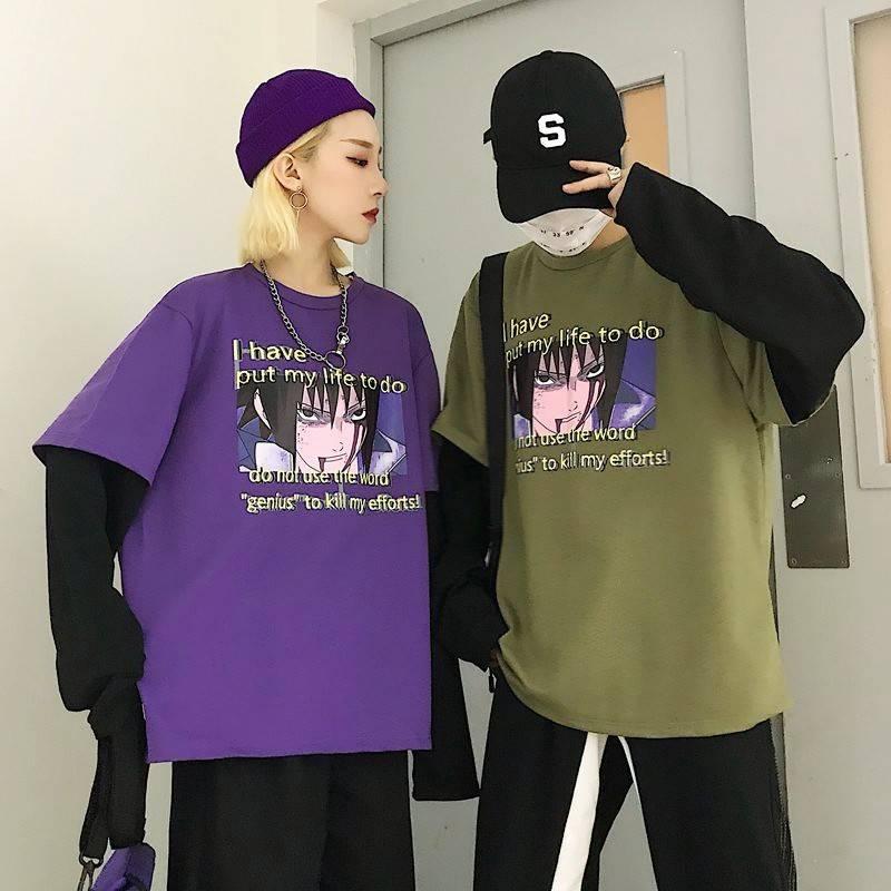 Objective Japanese Chinese Womans Ladies Girls Peace Cat Cartoon Princess T Shirt Tops Streetwear Pride T Shirt Men Free Shipping T-shirts