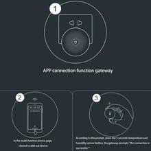 Акара Смарт Датчик Температуры и Влажности ZigBee Wi-Fi Беспроводная Работа С Xiaomi Умный Дом
