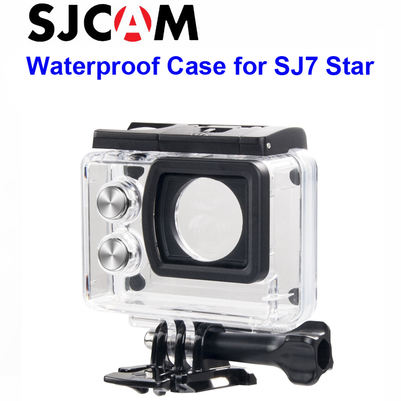Free shipping!! Original Underwater Waterproof Case for SJCAM SJ7 Diving 30M Waterproof Helmet Cam DVR