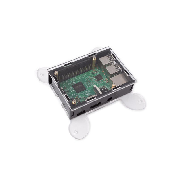 Transparent Acrylic Case Cover Shell Enclosure Box for Raspberry PI 3 /Model B +/ Model B (NO Raspberry PI Board )