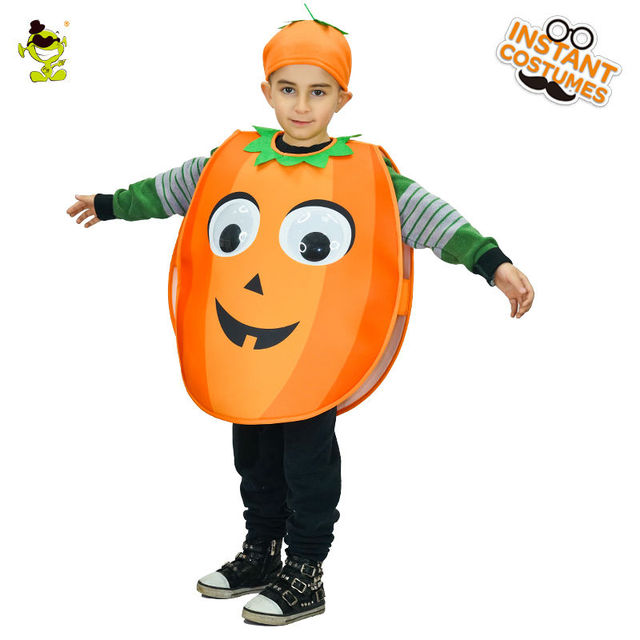 Unisex New Design cute pumpkin Costume Lovely Girlsu0026Boys Halloween Fancy Dress Kids Cosplay Outfits Clothings For  sc 1 st  AliExpress.com & Unisex New Design cute pumpkin Costume Lovely Girlsu0026Boys Halloween ...
