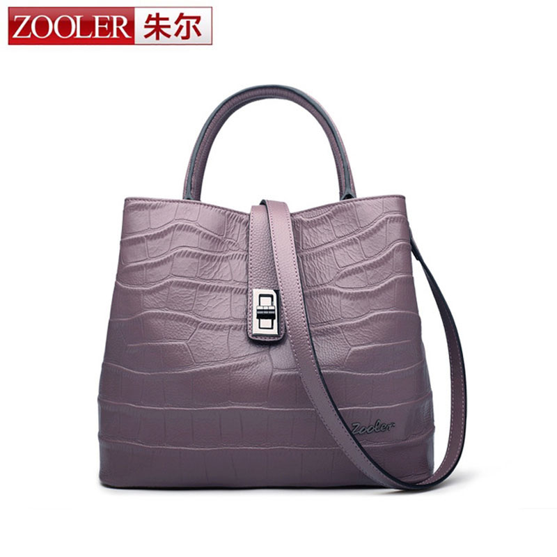 ZOOLER New Ladies Retro Design Handbag Bag Genuine Leather Bag Women Shoulder Crossbody Bags Luxury Handbags Women Bags Designer zooler 2017 new arrival genuine leather handbags woman design top quality crossbody bag luxury brand red ladies bags hs 3211