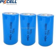3 шт. 3,6 В 9000 мАч ER 26500 батареи основной C Li-SOCl2 батарея ER26500 Срок годности 10 лет превосходное LR14 R14P 1,5 в C батарея