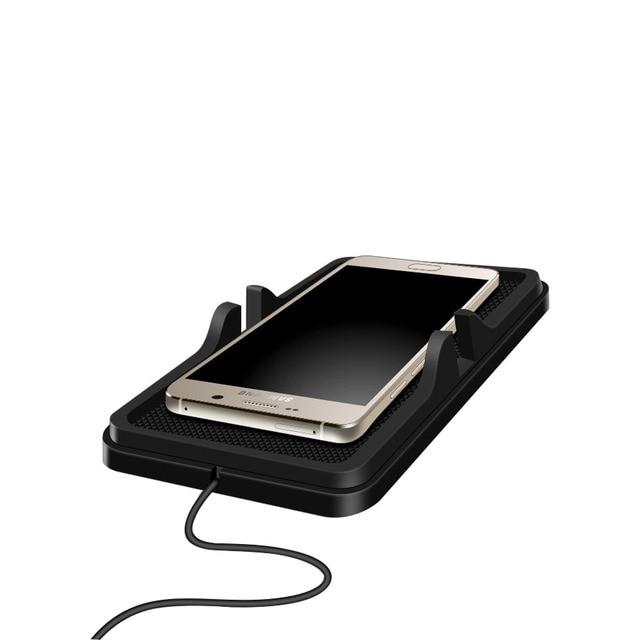 Ци Автомобилей Мобильный Телефон Владельца Стенд Беспроводное Зарядное Устройство для iPhone 6 плюс/5S Для Samsung Galaxy S6 S7 Edge S5 Ци Чаринг Pad