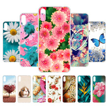 Huawei Y6 2019 Case Prime Silicone Back Cover Phone For Y 6 Pro MRD-LX1 MRD-LX1F