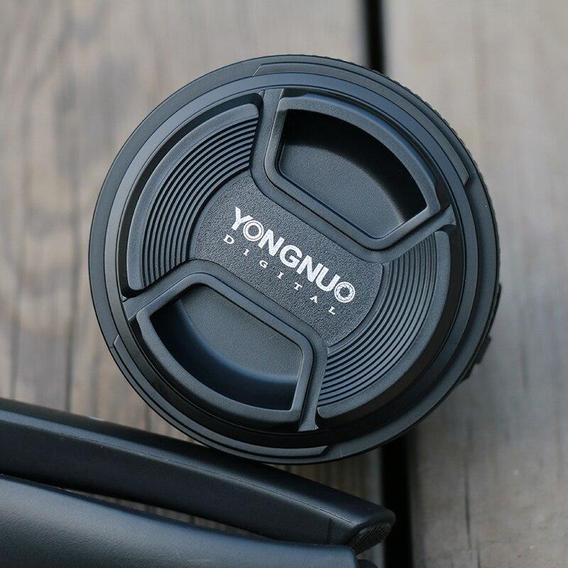YONGNUO YN 35mm F2 objectif de caméra pour Nikon Canon EOS YN35MM objectifs AF MF objectif grand Angle pour 600D 60D 5DII 5D 500D 400D 650D 6 - 5