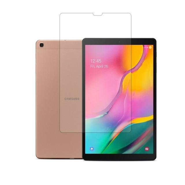 "Temperli cam ekran koruyucu kılıf filmi Samsung Galaxy Tab için bir 2019 10.1 SM T515 SM T510 10.1 ""cam"