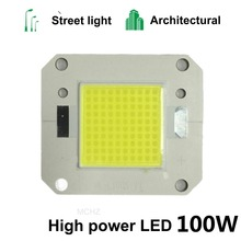 2Pcs 100W LED light Chip DC 28V 30V 32V 34V 36V High Power COB Integrated Diode lamp Beads DIY Floodlight