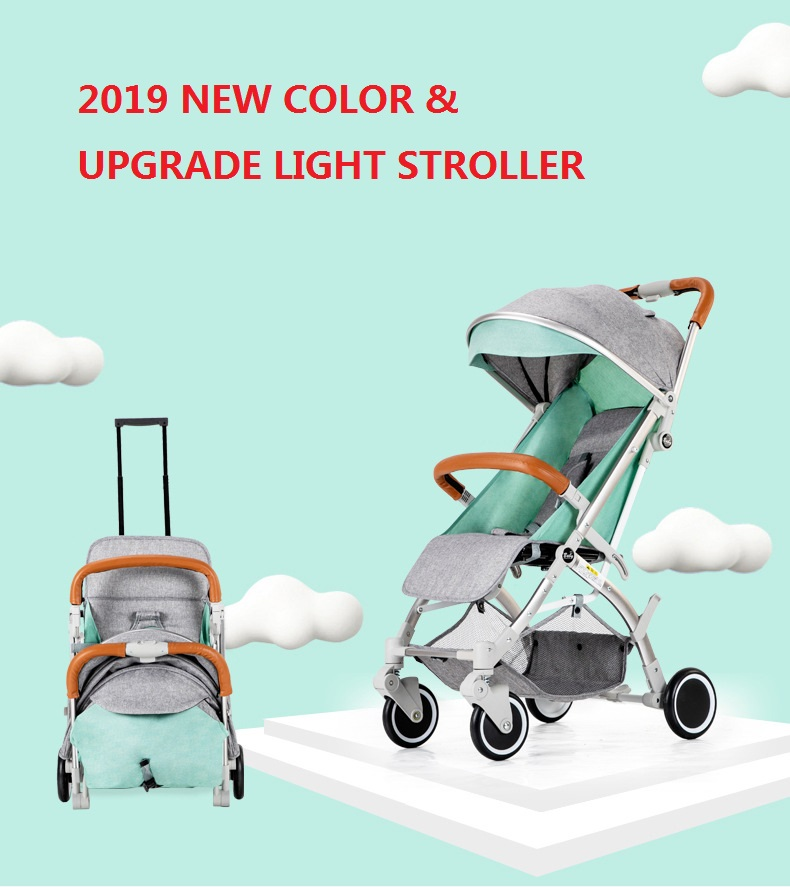 Mini Baby Stroller Portable Folding Pram Light Baby Carriage Suit for Lying and Seating In 2018 New ItemMini Baby Stroller Portable Folding Pram Light Baby Carriage Suit for Lying and Seating In 2018 New Item
