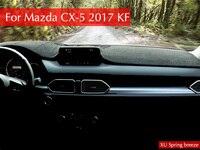 Cruscotto Protettiva Mat Ombra Cuscino Foto Poliestere Pad Interni tappeto Per Mazda CX-2017 CX5 2018 KF LHD Auto styling