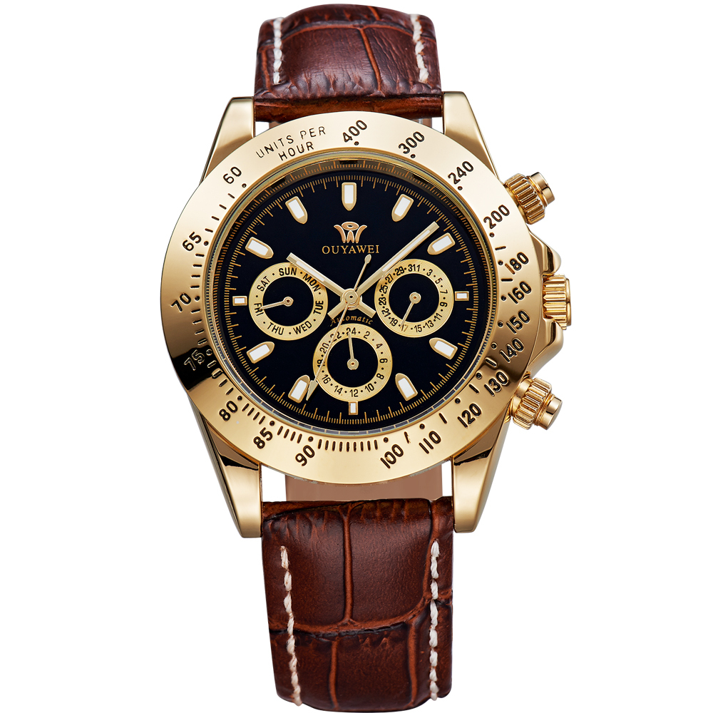 luxury watches leather straps best watchess 2017 aliexpress 10 meters water resistant men s automatic