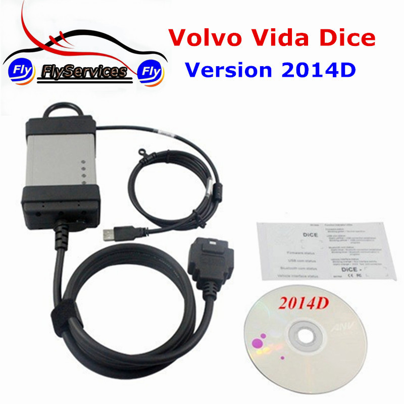 New Arrival Support Gasoline Cars 2014D Software For Volvo Vida Dice Special For Volvo With Multi-language For Volvo Vida Dice best car tuning version vida dice 2014d for professional diagnostic scanner multi language warranty quality and free ship