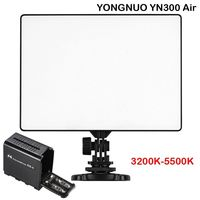 Yongnuo YN300 Air 3200K 5500K LED Video Light + Hard Battery Case For DSLR Camera / Camcorder ,LED Light