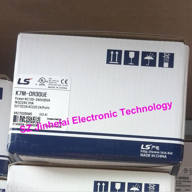 LS(LG) K7M-DR30UE New and original PLC controller k7m dr30ue ls lg new and original plc
