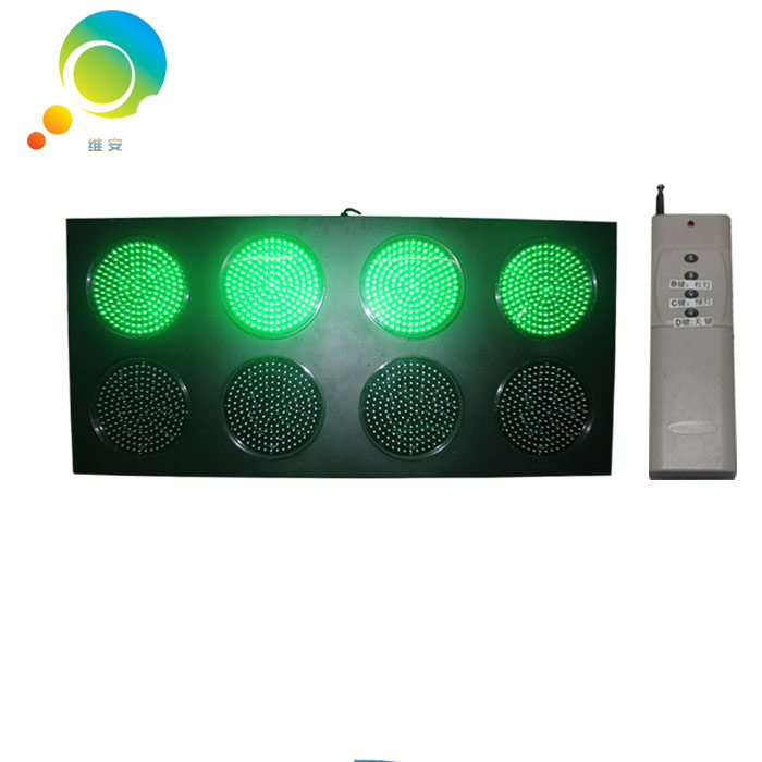 Hot Selling 300mm Playground LED Signal Light Red Green Full Ball Remote Control Traffic Lights