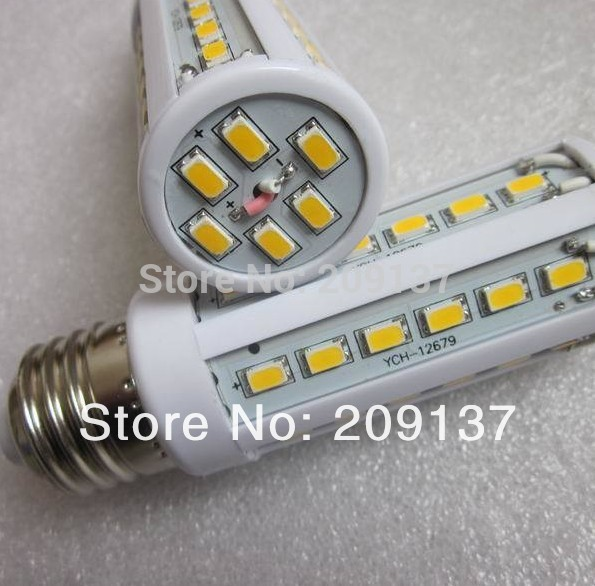Super Bright LED Corn Light Bulb smd5730 5630 E27 B22 E14 10W 15W AC DC12V 42