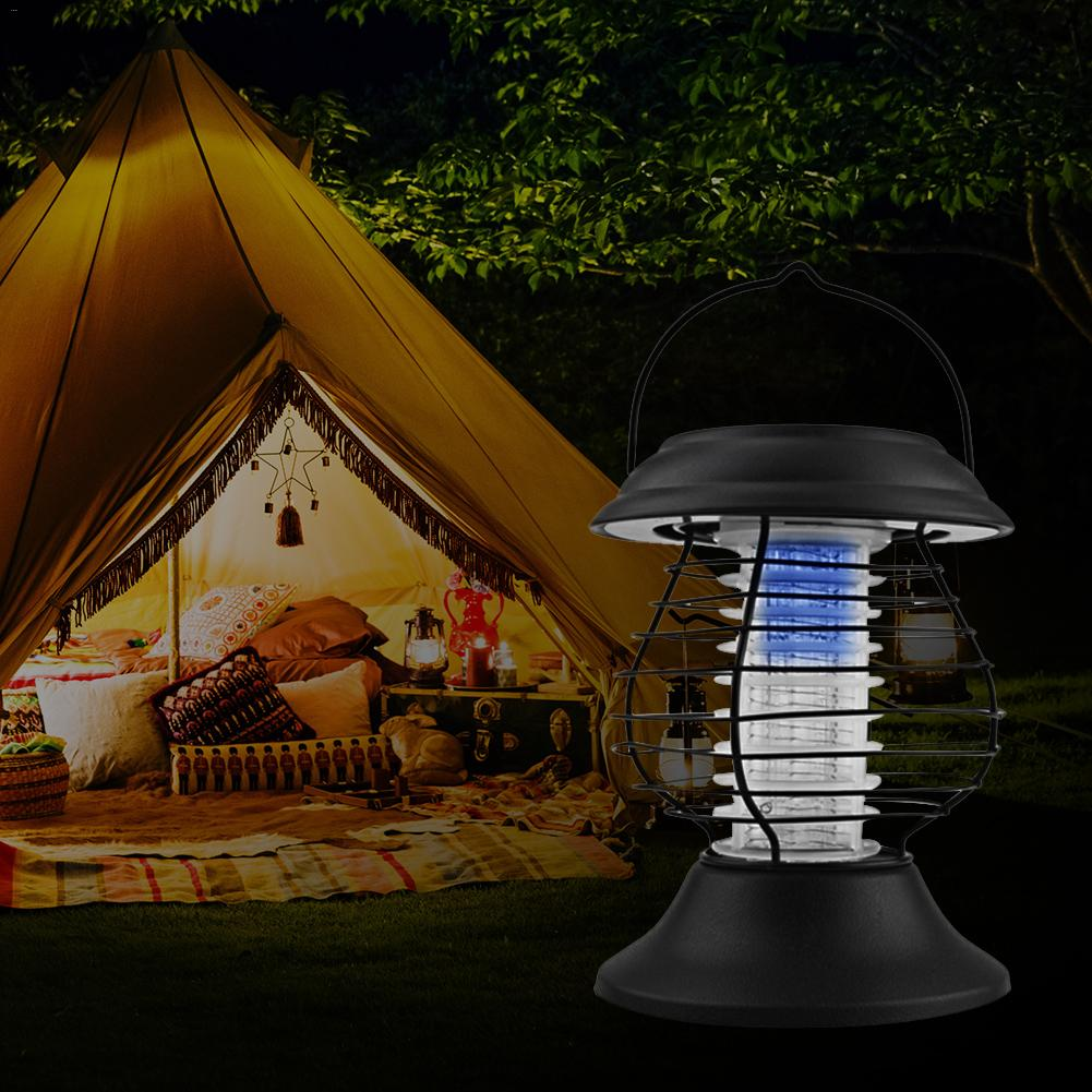 1PCS Portable Solar Power Mosquito Killer Light Mosquito Repeller Outdoor Insect Pest Moth Wasp Fly Mosquito Killer Lamp monkey shaped ultrasonic mosquito repeller with neck loop