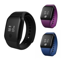 A88 Smart Watch With Blood Oxygen Wristband Heart Rate Fitness Tracker Waterproof Capacitive Touch Screen