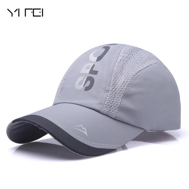 Truck Cap Lot Color Blank Baseball Cap Breathable Nylon Mesh Summer Women  Snapback Hats Adjustable Outdoor Net Cap Wholesale ae6f7a3773c