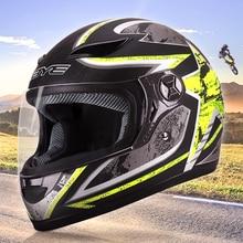 BYE Casco Moto Casco Integrale Viso Casco Traspirante Capacete Da Motociclo ABS Equitazione Casco Cascos Para Moto Motocross Casco