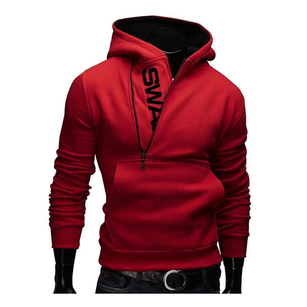 Hoodies Men Autumn Fashion Tracksuit Sweatshirt Men's Winter Warm Collar Cap Long Sleeves Pullover Hoody Sports Sweatshirts 23