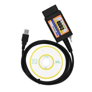 Image 5 - Hỗ Trợ Win10 MZ327 USB OBD2 Có Công Tắc Máy Quét Chẩn Đoán Hỗ Trợ Cho Xe FORD Mở Ẩn ELM327 PIC18F25C80 Forscan ELMconfig