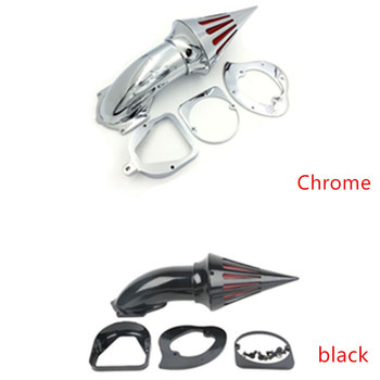 Motorcycle Spike Air Cleaner Kit Intake Filter For 1998-UP Honda Shadow ACE 750 Spirit 750