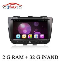2 din 1024*600 car dvd gps Android 6.0 car radio stereo for KIA SORENTO 2013 2014 car dvd player with 2G RAM ,32G iNand