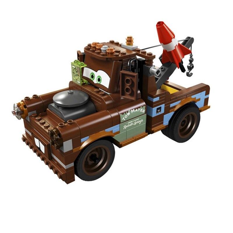 Pogo Bela 10015 287PCS+ Cars DIY Pixar Building Blocks Bricks Compatible with Legoe Toys big bricks building blocks base plate 51 25 5cm 32 16 dots baseplate diy bricks toy compatible with major brand blocks