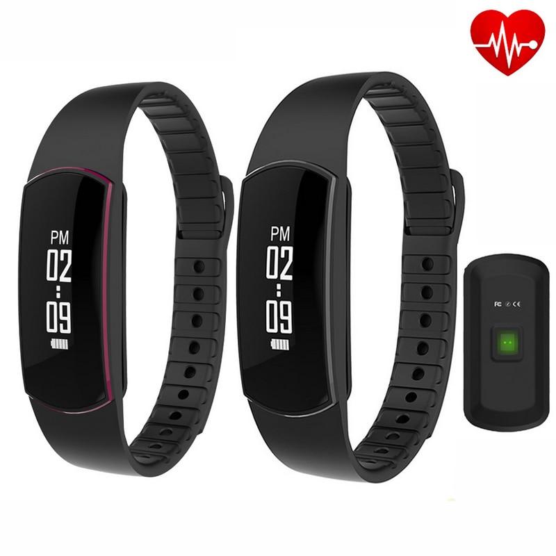 SH09 קצב הלב צמיד חכם שעונים מד מהירות - אלקטרוניקה חכמה