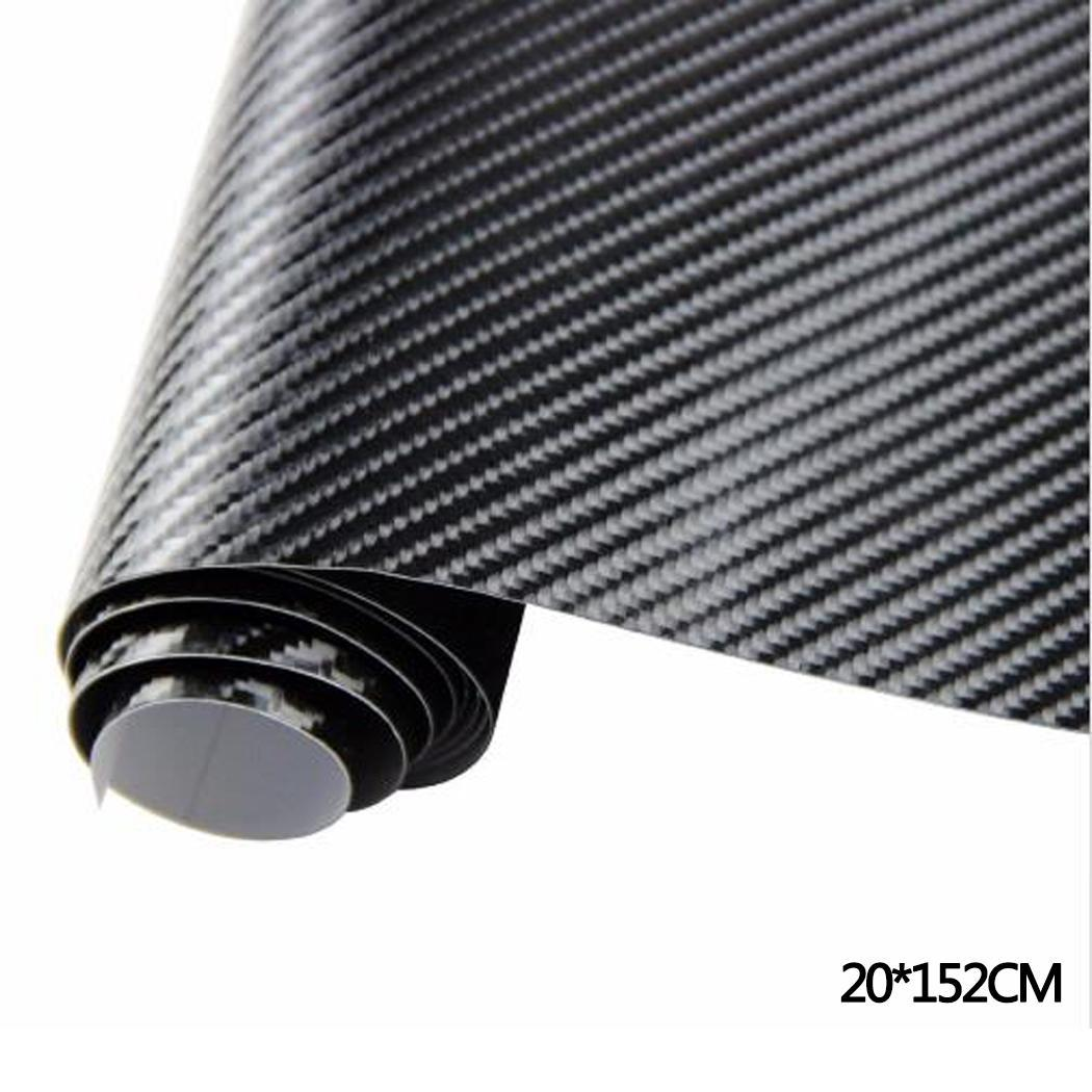 Car Protective Film Carbon Fiber 5D Glossy Sticker Car Body Stickers Paint Protection Decoration, Stickers