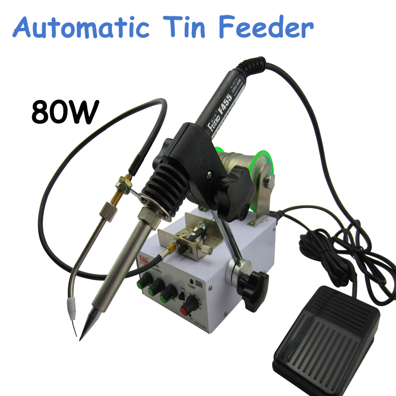 Automatic Tin Feeding Machine Constant Temperature Soldering Iron Teclast Iron F3100C automatic tin feeding machine constant temperature soldering iron teclast multi function foot soldering machine f3100a