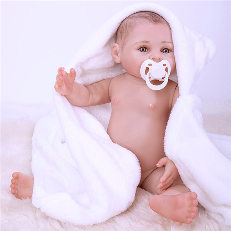 NPK Bebe Reborn Full Body Silicone Reborn Baby Doll Lifelike Boneca Reborn Bath Toy Birthday Gift For Kids