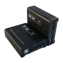 High Quality 120M HDMI KVM Extender TCP/IP Network Extender USB HDMI IR by CAT5e/6 (1 TX+1 RX)