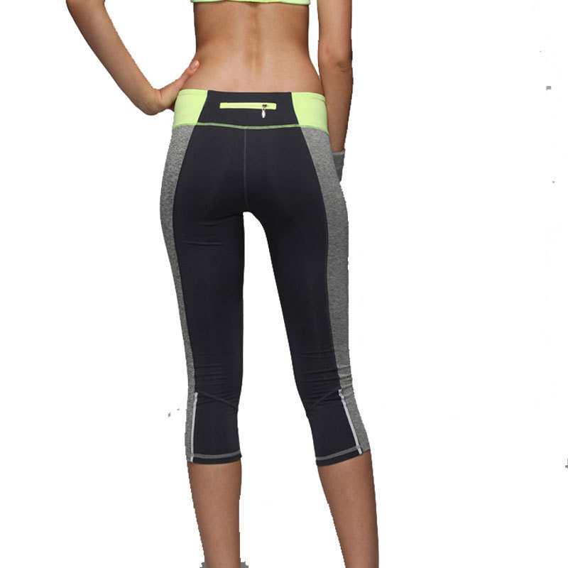 2e2f79a9b06e8 Women Sport Running Pants Tight Fitness Running Yoga Pants Breathable  Spandex Running Compression Pants Gym Slim Legging KZ001-in Running Pants  from Sports ...