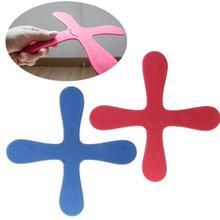 EVA Бумеранг в форме Креста летающие игрушки для улицы парк тарелка забавная игра Дети Спорт бросать и ловить Летающая дисковая игрушка