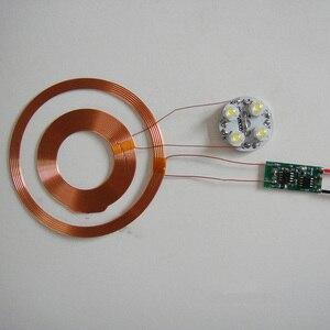 Image 2 - Lusya 1 قطعة المغناطيسي الإرتفاع وحدة امدادات الطاقة اللاسلكية متعددة الوظائف مؤشر وحدة شحن لاسلكي قطر 83 متر G6 013