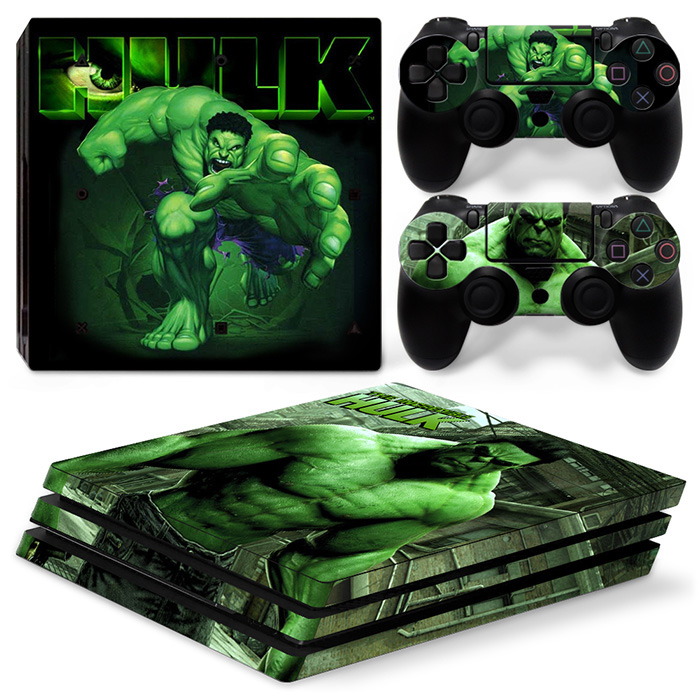 New Design Removable Vinyl Decals for PS4 PRO Skin Stickers