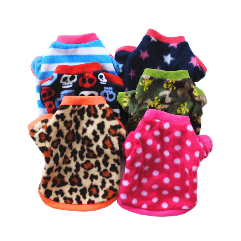 Winter Pet Dog Cat Clothes Warm Fleece Clothing For Small Dogs Puppy Kitten Chihuahua Vest Coat Sphynx Pajamas New Year Suit