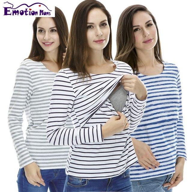 Эмоции Мам Материнство Одежда для беременных грудное вскармливание топы Кормящих Топ беременность одежда для Беременных Женщин По Беременности И Родам
