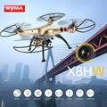 Caliente kvadrokopter x8hw syma rc helicóptero quadrocopter fpv rc drone con cámara wifi fpv rtf dron