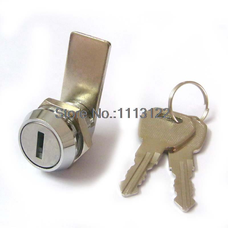 Ma19 Zinc Alloytubular Push Cylinder Lock 19mm Led Advertisement Lock 7 Pins Tubular Push In Lock 1 Pc 100% High Quality Materials Hardware Locks