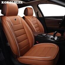 Kokololee специальные чехлы сидений автомобиля для Citroen все модели C4 C5 C2 C3 DS Слейте черный/красный/Красное вино /бежевый/коричневый авто аксессуары