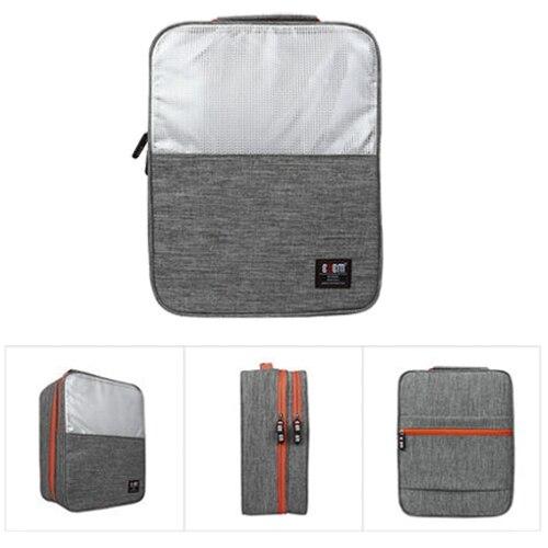 BUBM Водонепроницаемый пыле обувь сумка коробки, сумки удобно брать переносная сумка для обуви серый в стиле