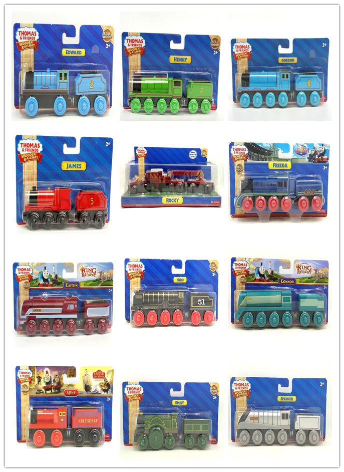 27 styles NEW Original Thomas And Friends Wooden Magnetic Railway Model Train Engine Gartor timothy jack belle ashima nocky NIB