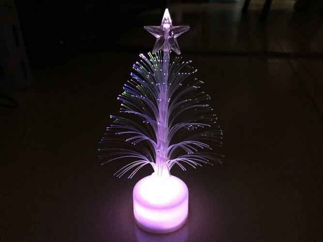 Ailin Colorful Glowing Christmas Tree Hot Light Toys