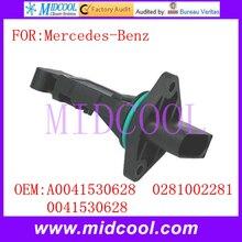 Новый Массового Расхода Воздуха Датчик использование OE No. A0041530628, 0281002281, 0041530628 для Mercedes-Benz
